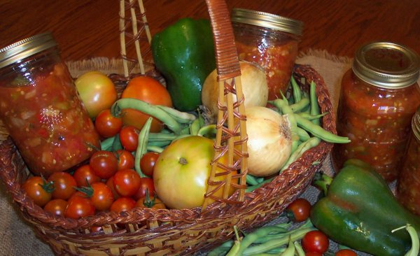 hot pepper spicey salsa recipe